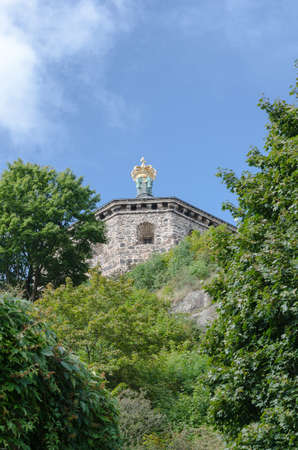 greengrass: a vgery old castle in Gothenburg on top of the hill