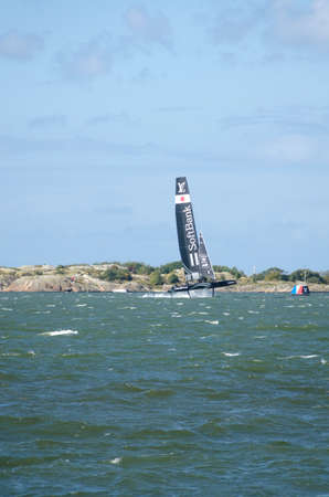 the americas: americas cup in sweden team Japan with great speed