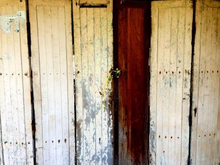 door vintage photo