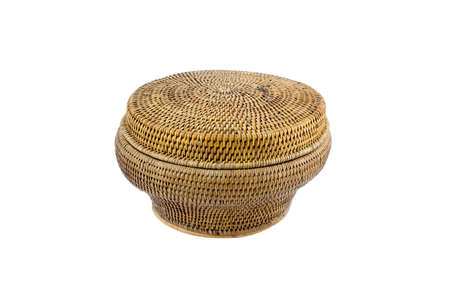 receptacle for betel box for pounding betel and areca, formerly used by old women in Thailand asia Stock Photo