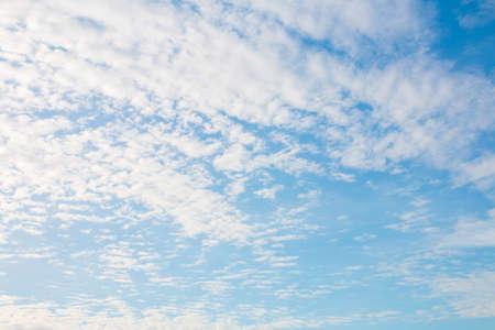 altocumulus: Altocumulus cloud with blue sky for background