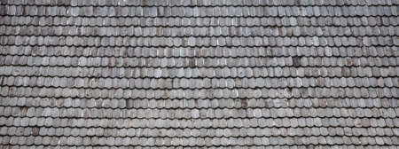 roof texture: old wood shingle roof with rough surface, background