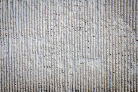concrete wall background with deformed bar texture and rough surface Stock Photo