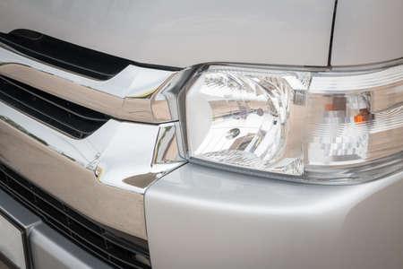 headlight: old vehicle headlight, transportation background, abstract