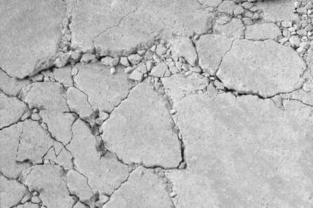 gescheurd beton abstracte achtergrond met ruw oppervlak