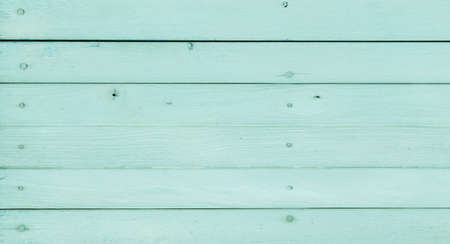 wooden floors: old cyan wood texture background, vintage and pastel tone Stock Photo