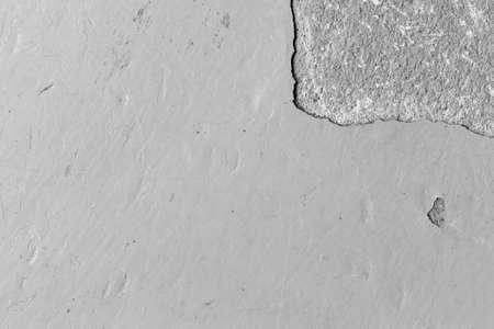 古い剥離を使って床をエポキシし、黒と白のトーンを傷 写真素材 - 90081022