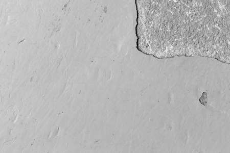 old epoxy floor with peeling and scratched black and white tone Archivio Fotografico