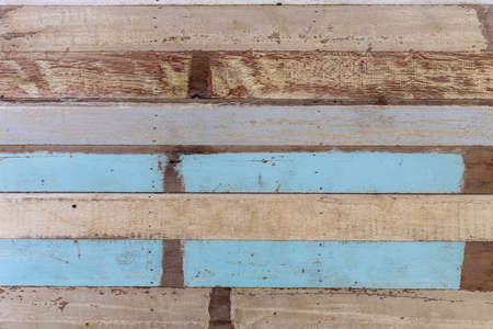 wood texture with blue and white color abstract background, floor and wall tiles, earth tone