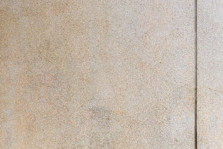 washed gravel texture with grooved line, industry construction concept background Stock Photo