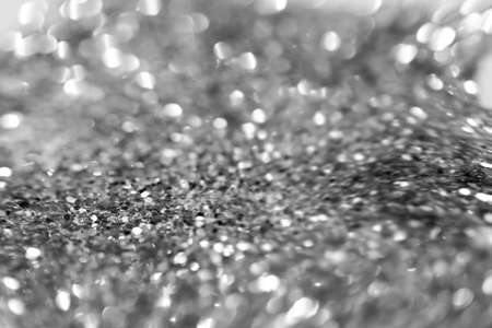 abstract bokeh background, black and white tone