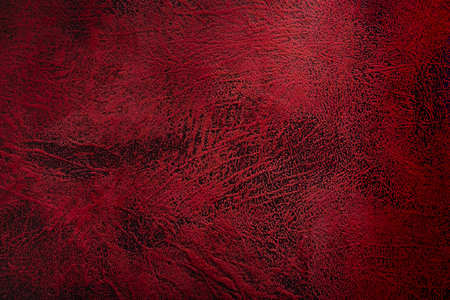 old red and black leather textile texture background, dark tone