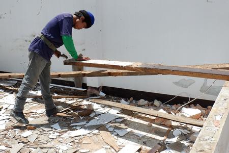 construction in thailand Standard-Bild