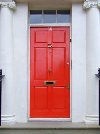 Classic style London door