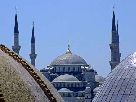 grandiose: Blue mosque in Istanbul