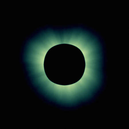 Natural phenomenon of total eclipse Stock Photo - 508048
