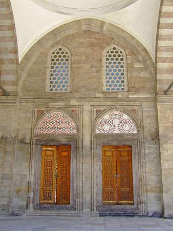 Entrance to mosque photo
