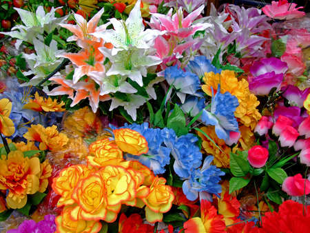 florescence: Colorful flower bouquet with different kind of flowers, close-up shot