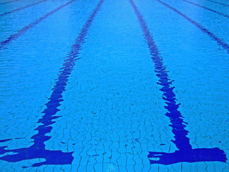 wetness: Trembling surface of an Olympic size swimming pool