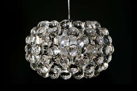 Kronleuchter Kristall Weiß ~ Disco mit großer kronleuchter kristall lupe bälle lizenzfreie