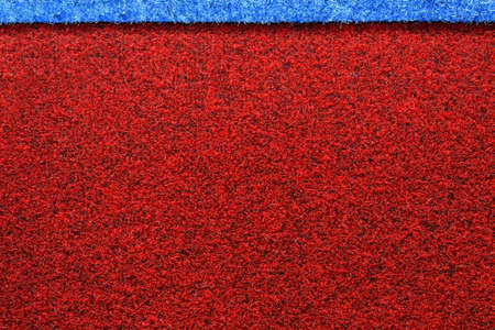 Background of red carpet pattern texture flooring photo
