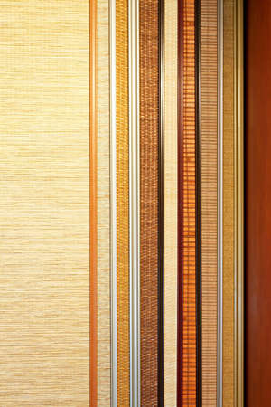 sampler: Bamboo material sampler with several colors picker