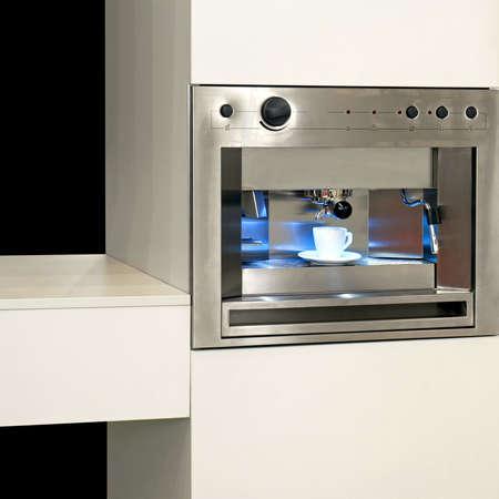 Big new coffee machine for espresso and cappuccino Stock Photo - 3082367