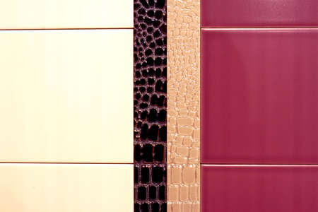 Luxury tiles in two colors with details Stock Photo - 3252892