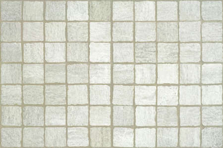 Marble mosaic tiles in grunge style background