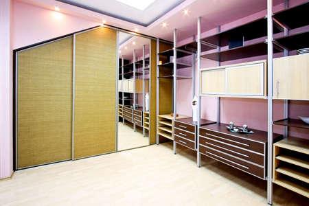 Big and new wardroom with locker and racks Stock Photo - 3284279