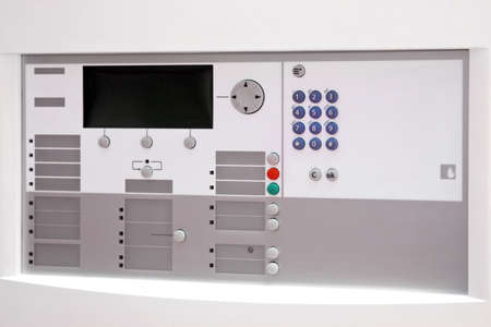 Fire security unit with keypad and display