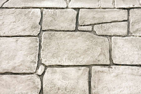 bedrock: Wall made from white natural stone bricks