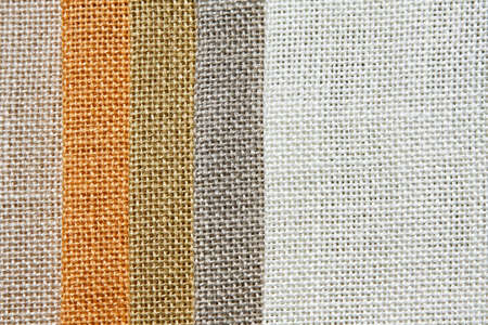 Light tone color palette samples of linen Stock Photo - 3546780