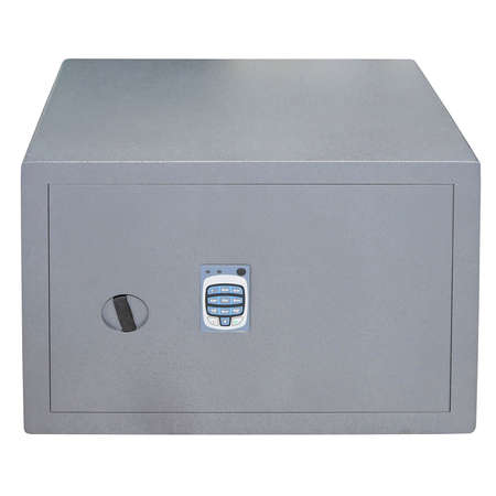Safe box with digital dial combination lock isolated Stock Photo - 3592738