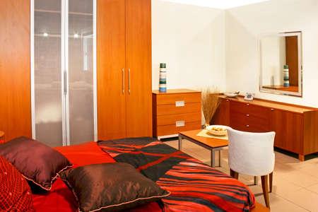 Big and comfortable modern premium bedroom interior Stock Photo - 3619749