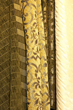 upholster: Vintage style linen samples for clothing industry