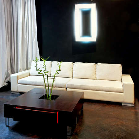 Inter shot of contemporary style living room Stock Photo - 4179407