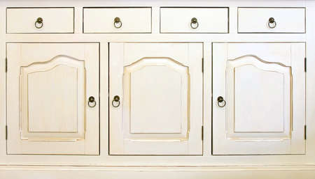 armoire cuisine: Fa�ade de l'armoire de cuisine avec tiroirs