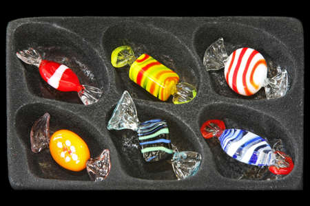 Close up shot of colorful crystal candies Stock Photo - 4820675