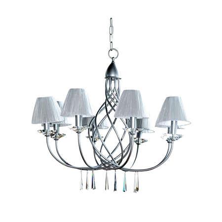 Big silver chandelier Stock Photo - 5054047