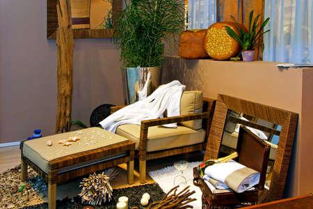Interior of a summer beach holiday house Stock Photo - 5286575