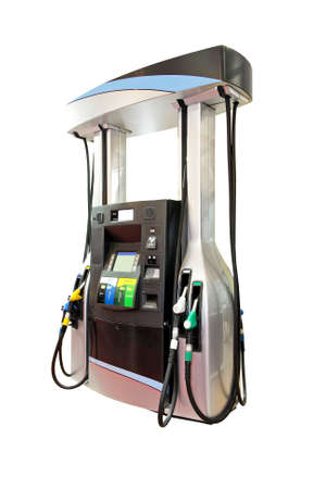 filling out: Modern gas pump