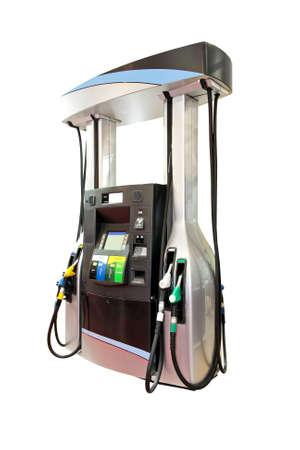 pompe: Moderna pompa del gas Archivio Fotografico