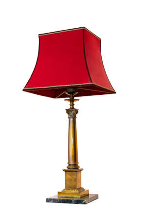 Old red lamp Stock Photo - 5795890