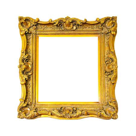Old gold frame photo