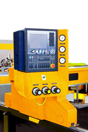 Plasma cutter with control board and monitor Stock Photo - 7261673