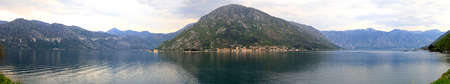 kotor: Bay of Kotor in Montenegro