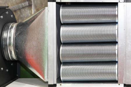 filtración: Filtro industrial para el acondicionador de aire y ventilación