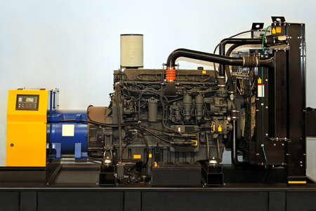 Automatische stand-by elektrische hoog vermogen generator Redactioneel
