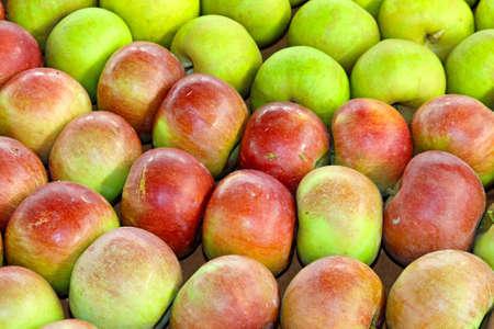 Close up shot of ripe apples Stock Photo - 15174475